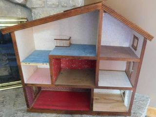 Solid Wood Dollhouse   Accessories