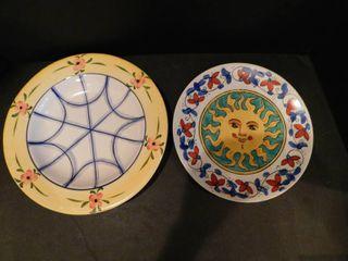 Decorative Plates  2 ea