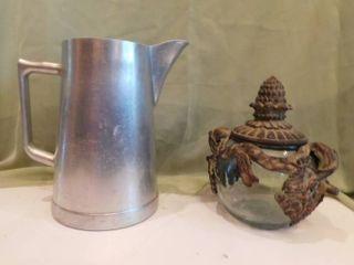 Unique Teapot   Metal Pitcher