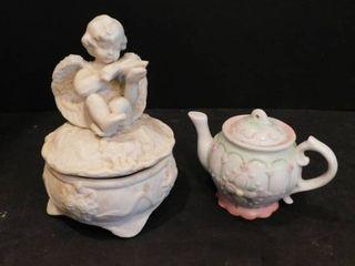 Trinket Box   Teapot
