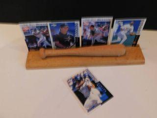 Wooden Baseball Card Holder