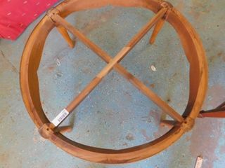 Italian Round Coffee Table Frame