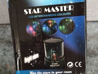Star Master led Interchanging Colours