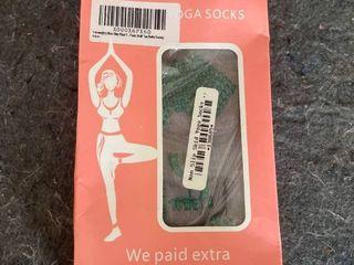 Non Slip Yoga Socks  Set of 2