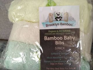 Bamboo Baby Bibs 3 Pack Set Of 2
