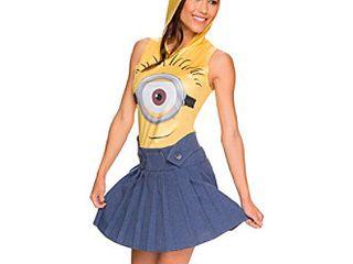 Women s Minions Movie  Minion Face Adult Costume Dress   M