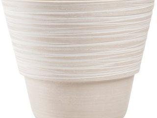 Plastic Container 8 25 Wx10 H White Beige