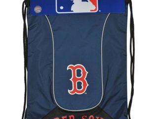 MlB Boston Red Sox Doubleheader Backsack  18 Inch  Navy