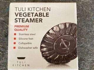 Tuli Kitchen Vegetable Steamer  Set of 2