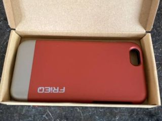 IPhone 6 Case  Dual layer Protection Slim Hard Case   Red