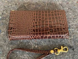IPhone 6 Case   Faux leather  Brown