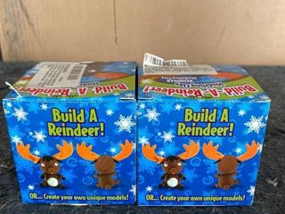 Build A Reindeer Modeling Clay Kit Set of 2