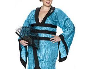 Delicious Gorgeous Geisha Costume  Teal  Medium