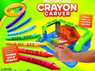 Motorized Crayola Crayon Carver