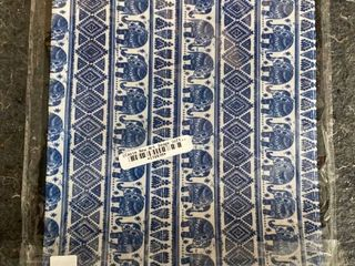 ICasso New Art Image Soft book Elephants Blue White