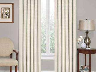 84 x42  Kendall Thermaback Blackout Curtain Panel Ivory   Eclipse