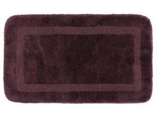 Mohawk Facet Bath Rug  2 x3 4    Plum