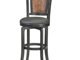 Norwood Stool   Black Copper Accent   Counter Height   23 28 in