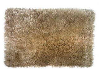 Olivia Gray Freemont Shaggy 20 x 32 in  Bath Rug in Gold