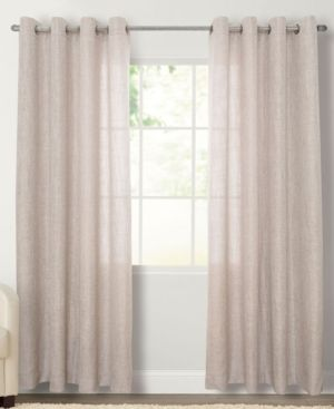 Miller Curtains layton 50  x 95  Grommet Panel