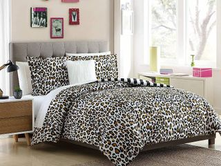 lemon and spice Nola two and three piece reversible twin duvet set