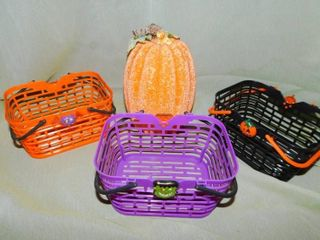 Candy Baskets  3    Pumpkin