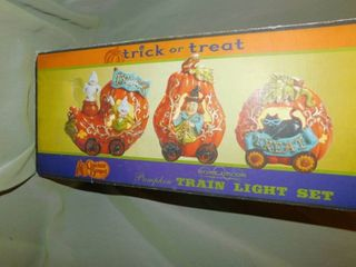Cracker Barrel   Pumpkin Train