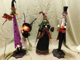 Three Halloween Decorator Items
