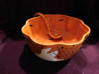 Ceramic Punch Bowl