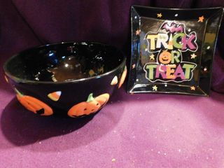 Ceramic Halloween Bowl