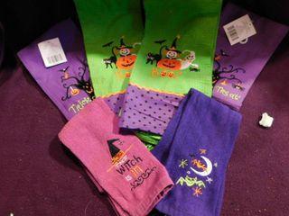 Halloween Towels  6 ea