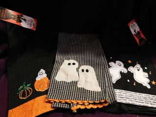 Halloween Towels  set of 3