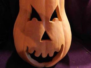 Ceramic Scary Jack O lantern
