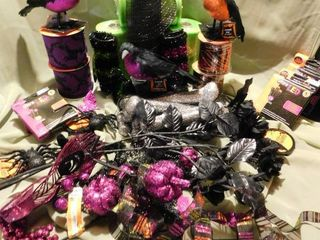 Halloween Wreath Supplies