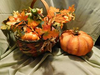 Halloween Thanksgiving Fall Basket