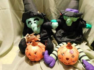 Stuffed Witches  2 ea