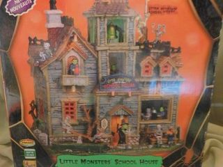 Spooky Town   little Monster School House