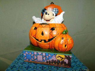 Disney Mickey Inside Jack-'O-Lantern