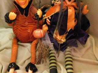 Halloween Dolls  2 ea