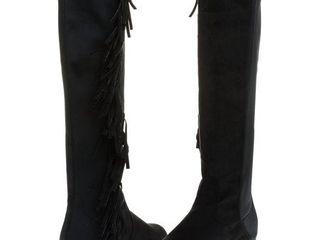 Sara Z ladies Microsuede Fringe Boots  See More Sizes