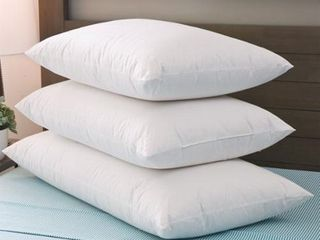 Grandeur Collection Blended luxury Goose Down and Down Alternative Pillow  Retail 77 98