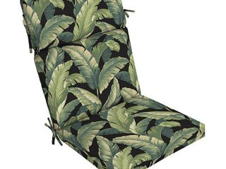 Box of 4 Arden Selections Onyx Cebu Dining Chair Cushions   44 in l x 21 in W x 4 5 in H