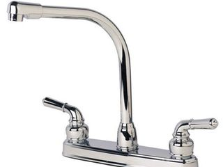 Builders Shoppe 1200 RV Motorhome Replacement High Rise Swivel Kitchen Faucet