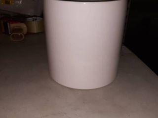 UPshining Mid Century Ceramic Pot 8  White