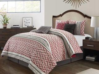 Grand Avenue Khloe 7 Piece Comforter Set  Retail 78 48