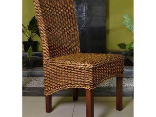 International Caravan Gaby Mahogany Dining Chair  Retail 109 98