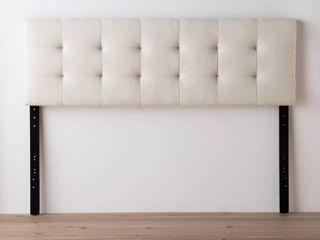 Brookside Emmie Adjustable Upholstered Headboard  Retail 161 49