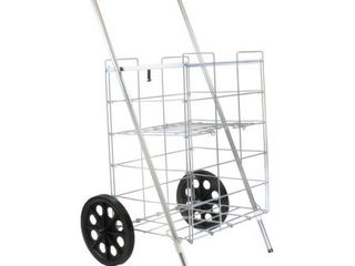 Helping Hand FQ3915D 2 Wheel Folding Cart with Wheels and Shelf