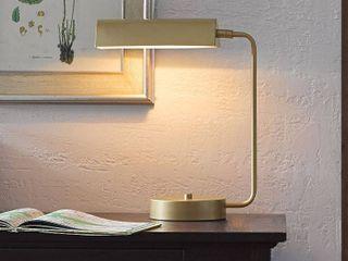 Madison Park Signature Bringham 19 Inch Gold Desk lamp