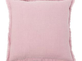 Bradford Fringe Hand Crafted Cotton Decorative Accent Throw Pillow  set of 2